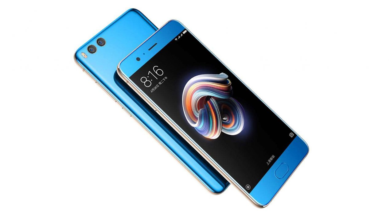 Xiaomi Mi Note 3 td