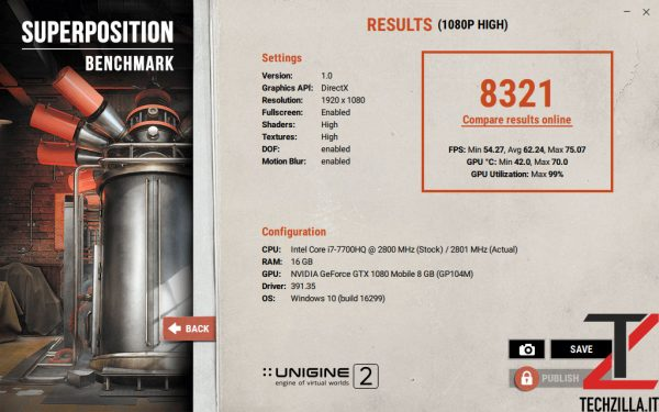 Acer Triton 700 Superposition High