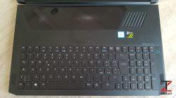 Acer Triton 700 Tastiera e Touchpad