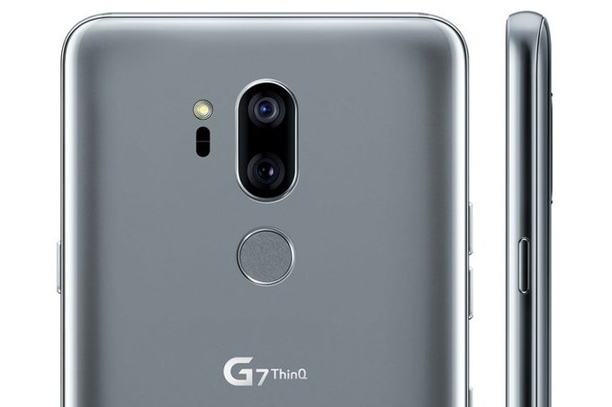 Heres the LG G7 ThinQ from all angles notch and all
