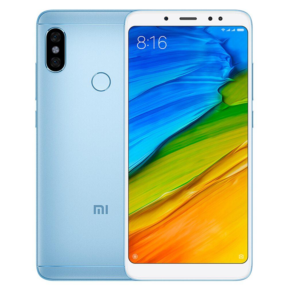 Xiaomi Redmi Note 5 5 99 Inch 3GB 32GB Smartphone Blue 574039