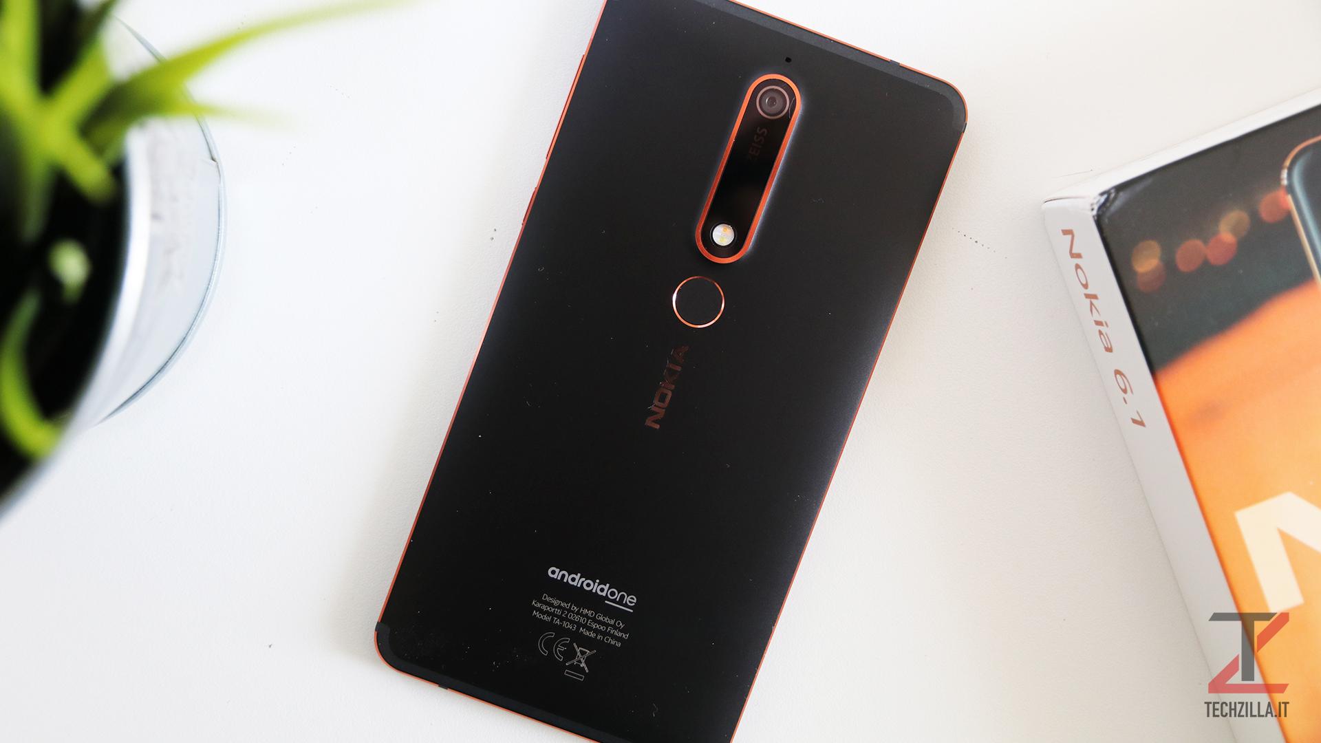 Nokia 6.1 recensione