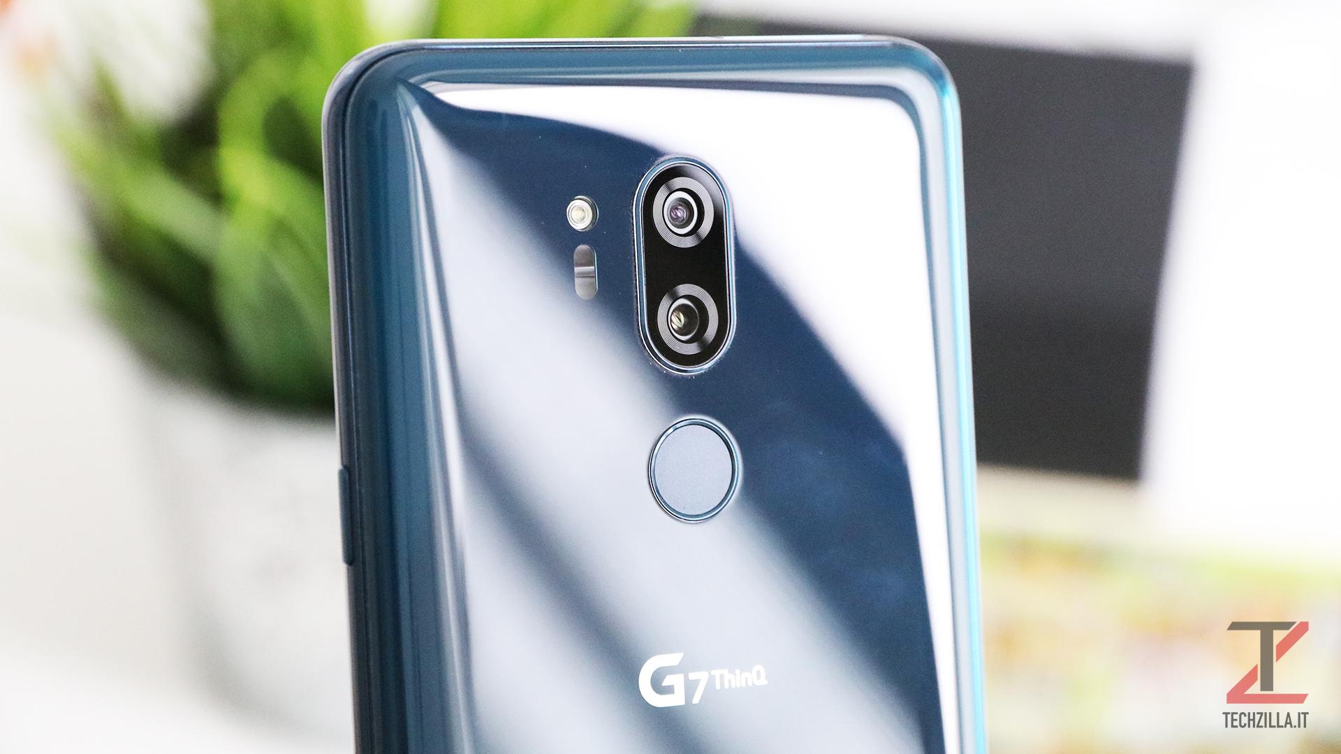 LG G7 ThinQ Fotocamera