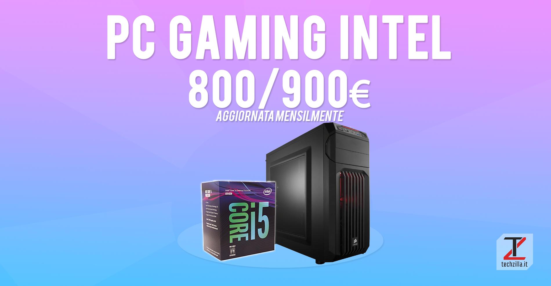 miglior PC Intel 800 900 euro