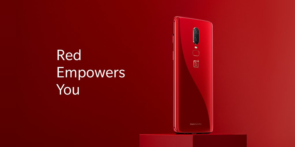 OnePlus 6 Red 3