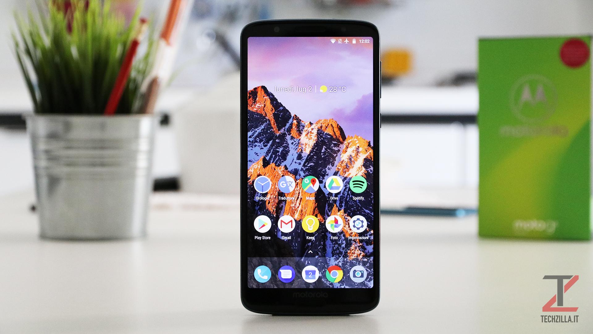 Motorola Moto G6 Plus recensione
