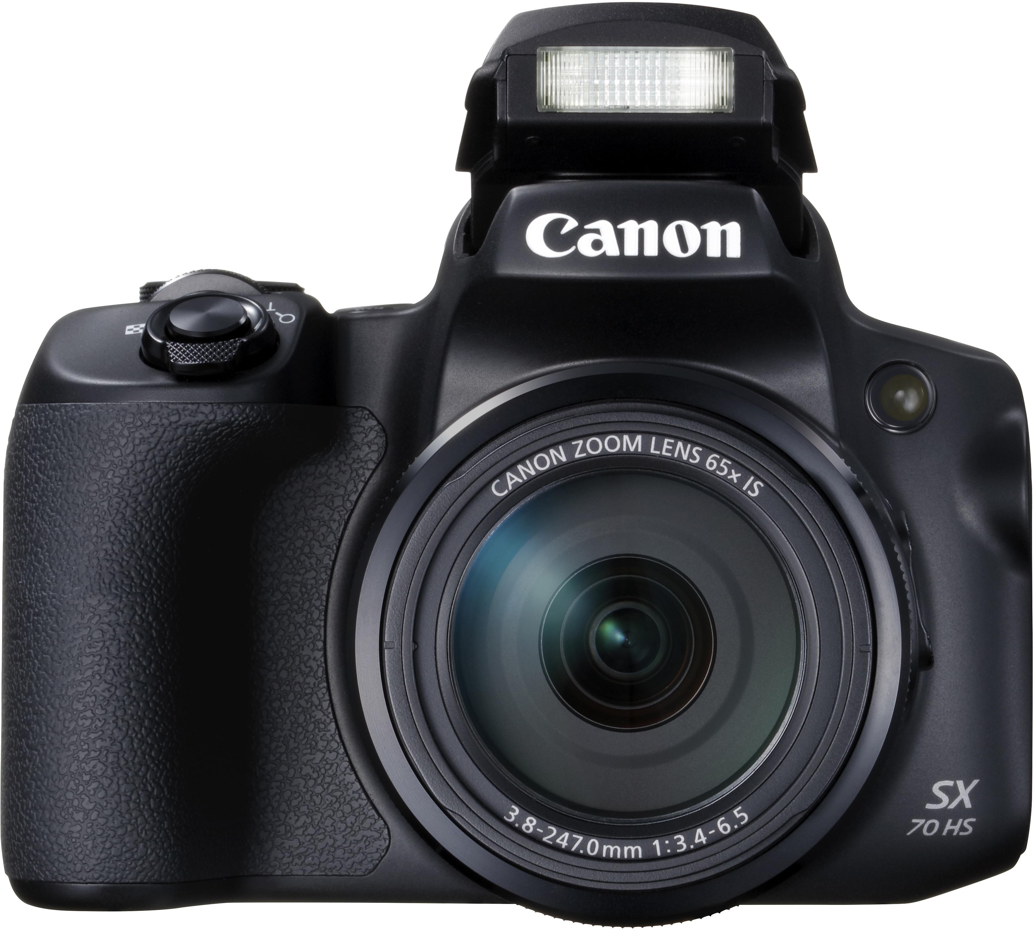 05 Canon PowerShot SX70 HS BK The Front