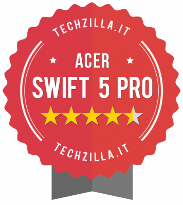 Badge Acer Swift 5 Pro