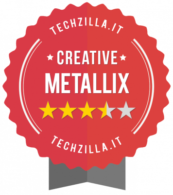 Badge Creative Metallix