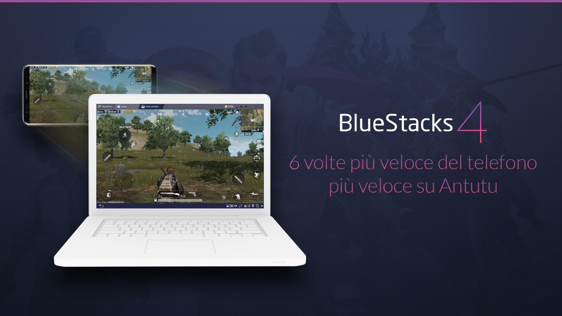 BlueStacks 4 Evidenza