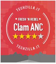 Badge Recensione Fresh 'n Rebel Clam ANC