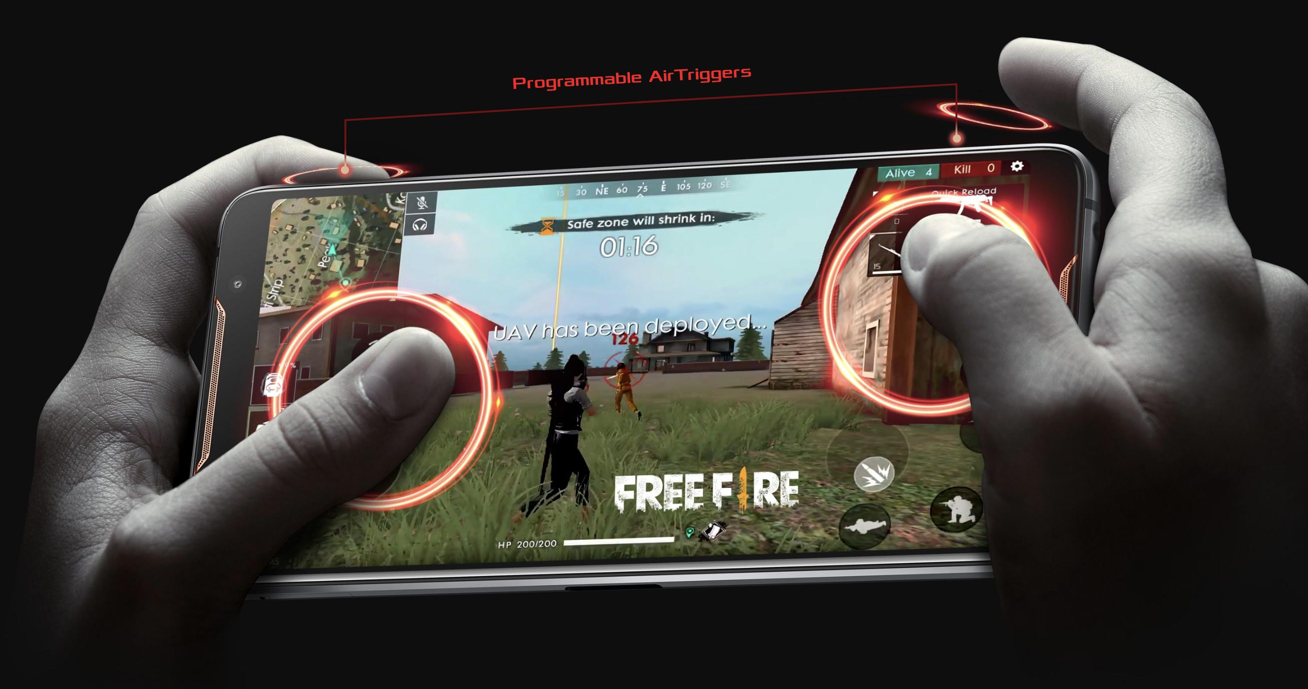 Asus Rog phone air trigger