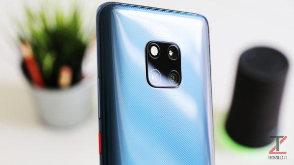 Huawei Mate 20 Pro fotocamera