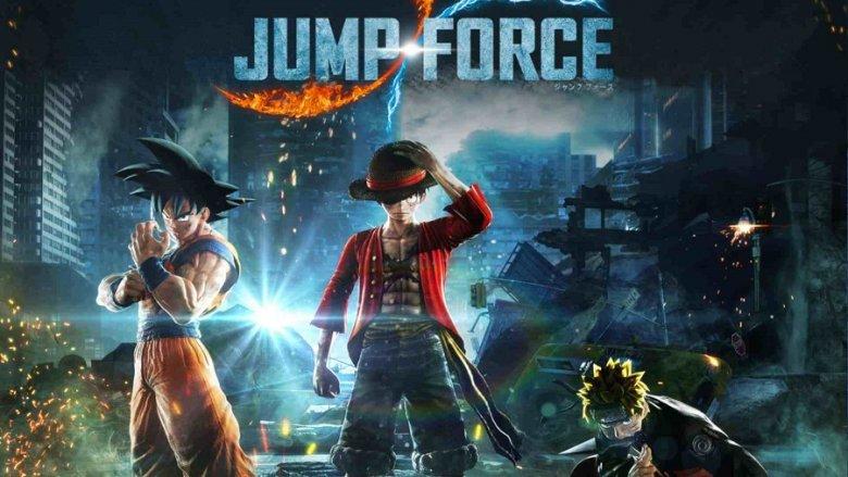 Namco Bandai Jump Force Lucca 2018