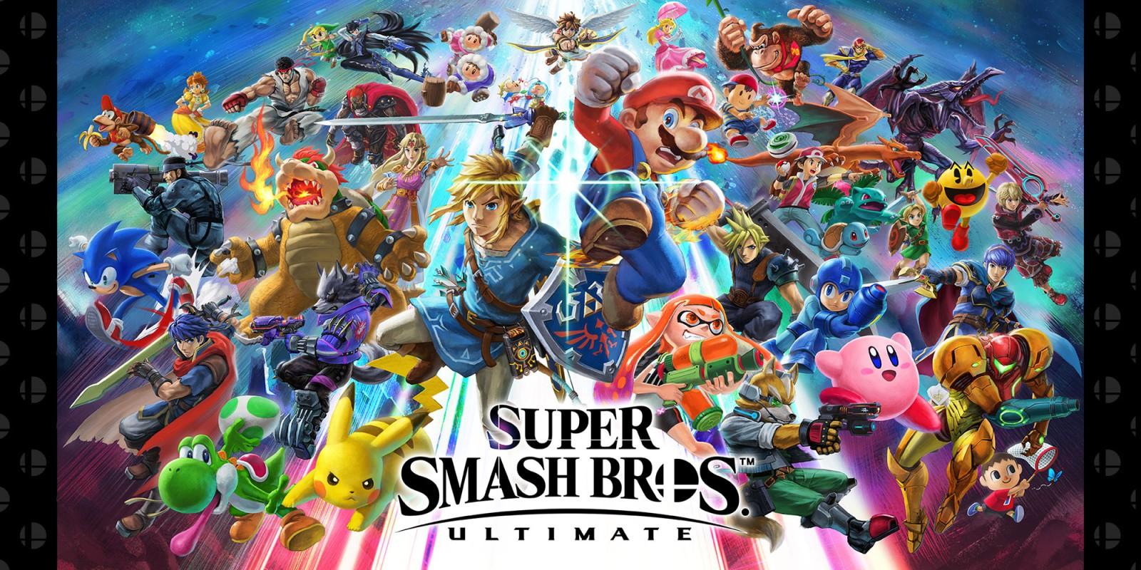 Nintendo Switch Super Smash Bros Ultimate Lucca 2018