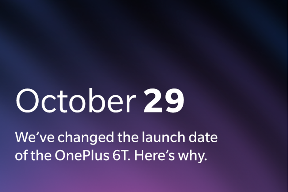 OnePlus will unveil the OnePlus 6T a day early Apple is to blame