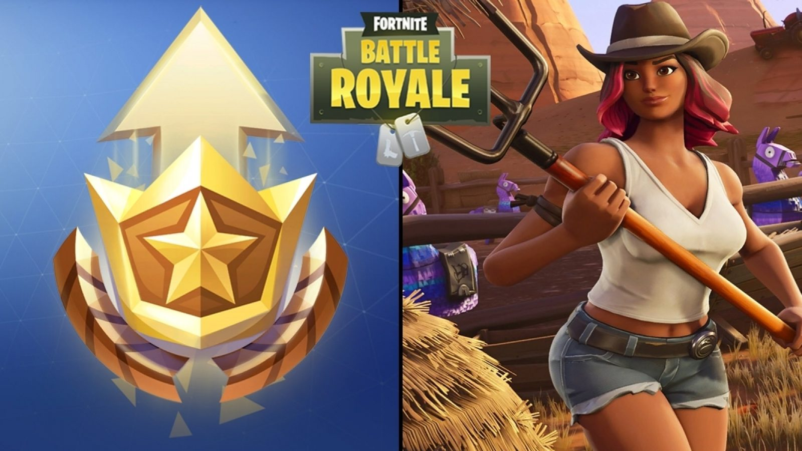 how to find the secret battle pass star for the season 6 week 1 fortnite bonus hunting party challenge