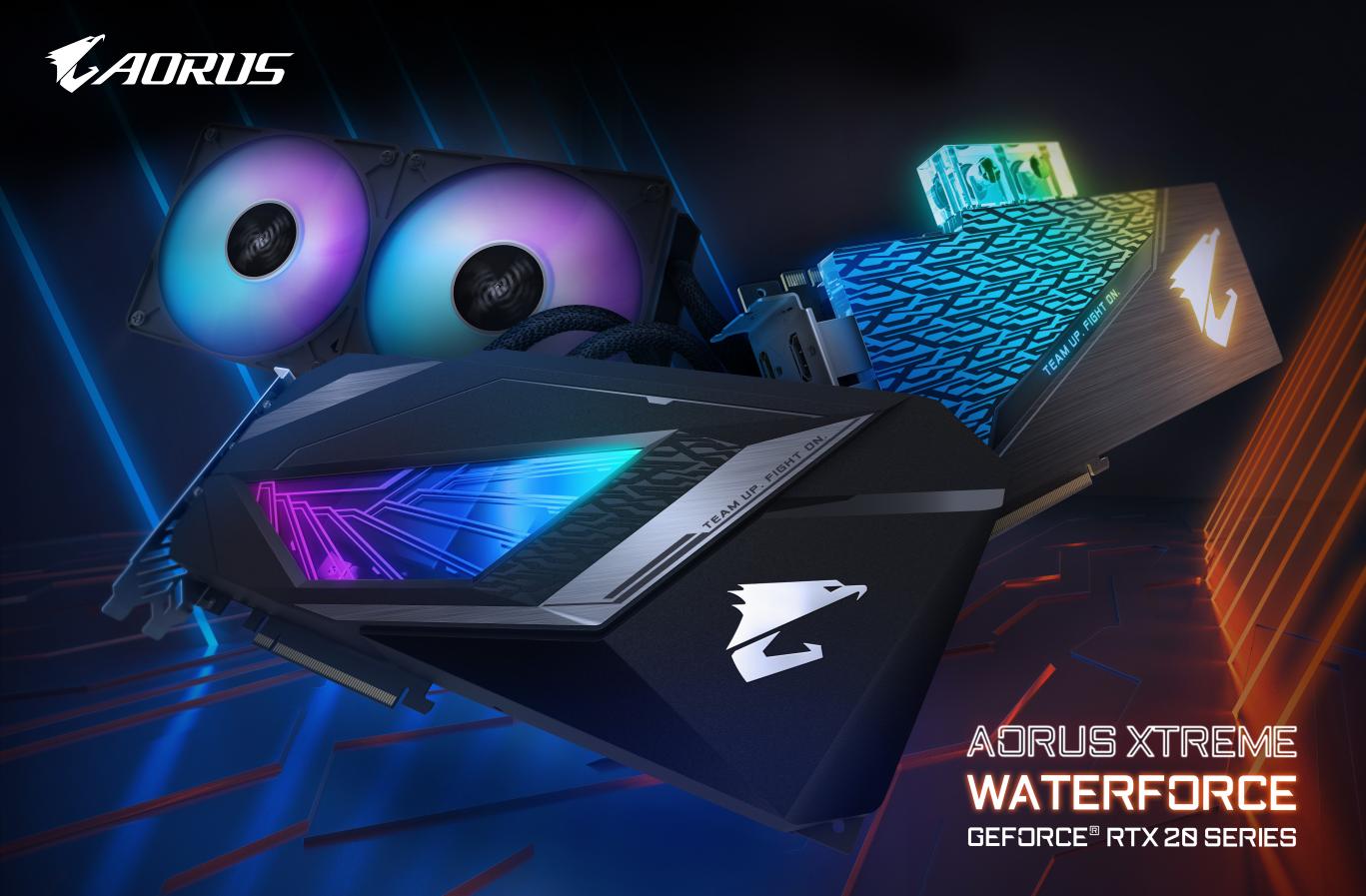 Aorus Xtreme Waterforce RTX20series 1