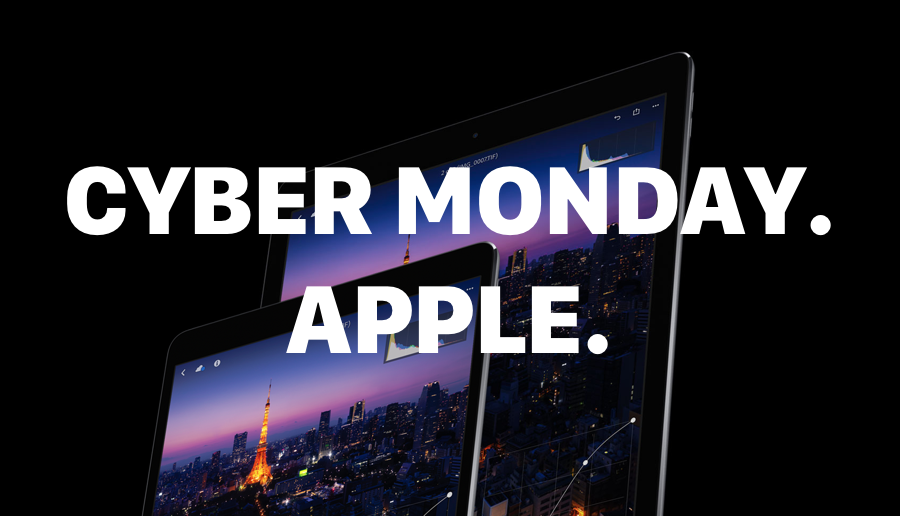 Cyber Monday on Apple Products 2017