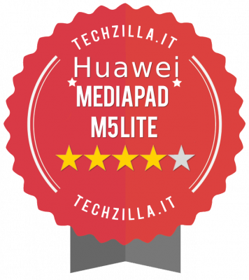 Badge Huawei MediaPad M5 Lite