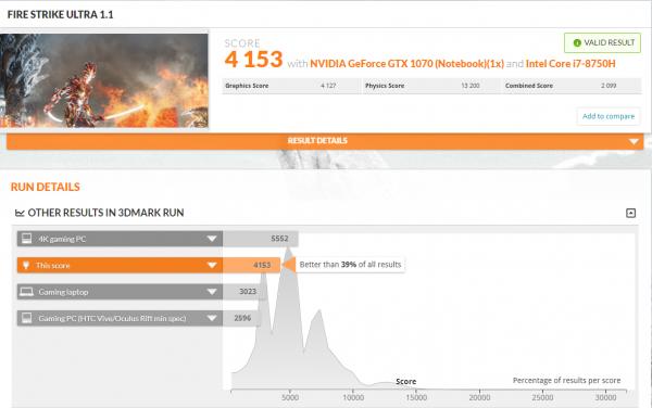 MSI GE63 Firestrike Ultra 1.1