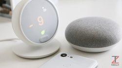 Nest Thermostat E google home