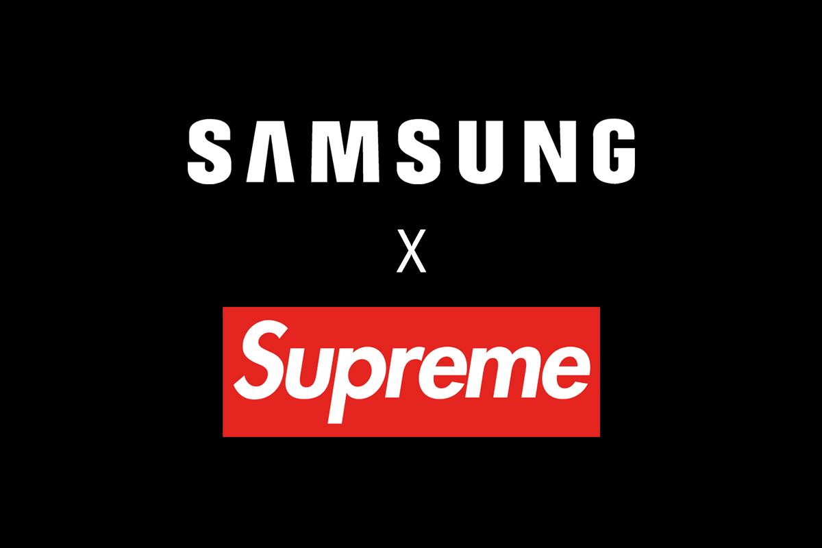 samsung parceria fake supreme