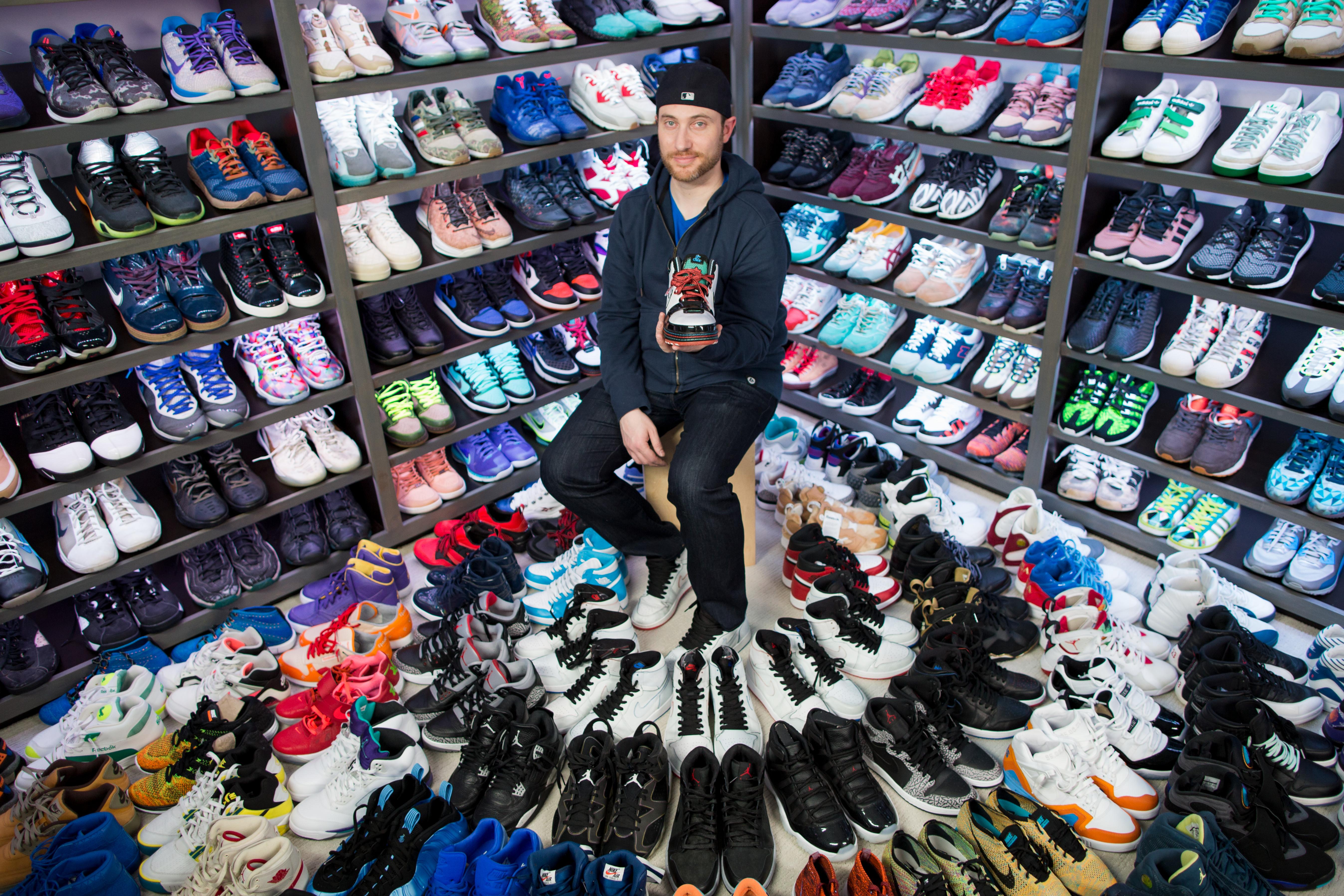 Josh closet