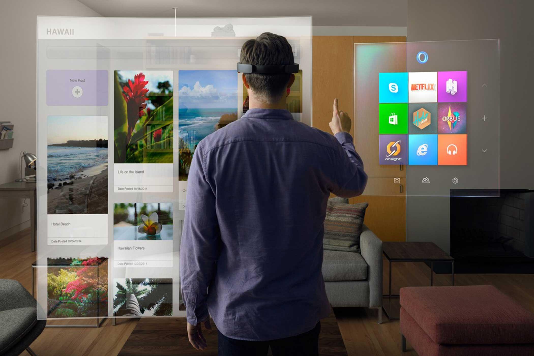 Microsoft HoloLens 2 al MWC 2019