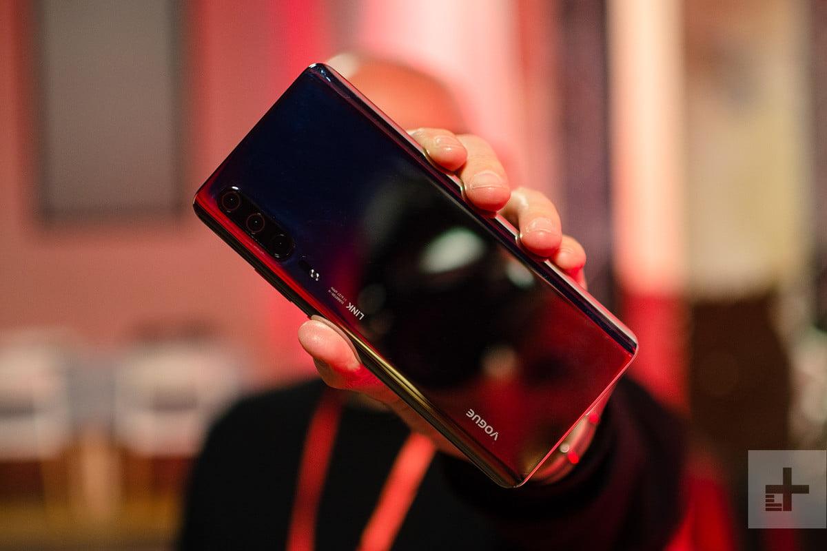 Huawei P30 foto MWC 2019