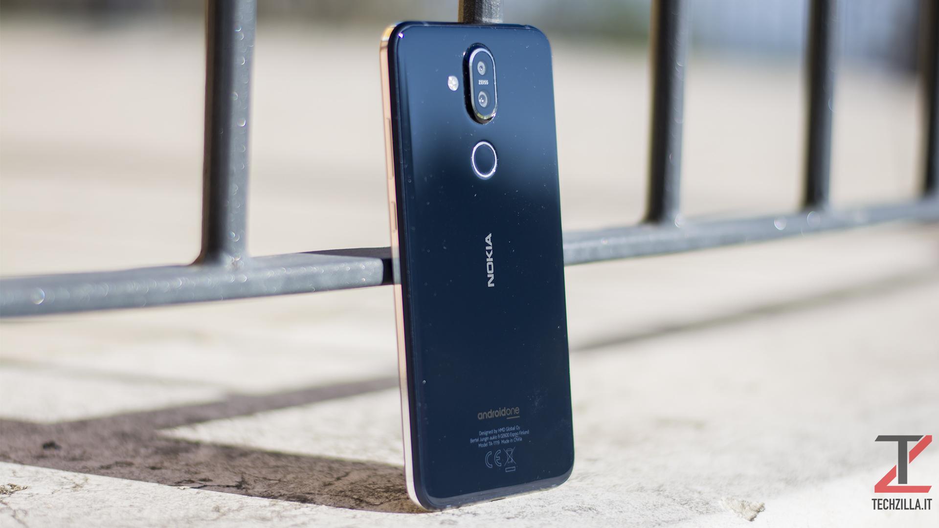 Recensione Nokia 8.1