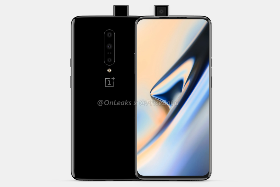 OnePlus 7 pop-up camera frontale
