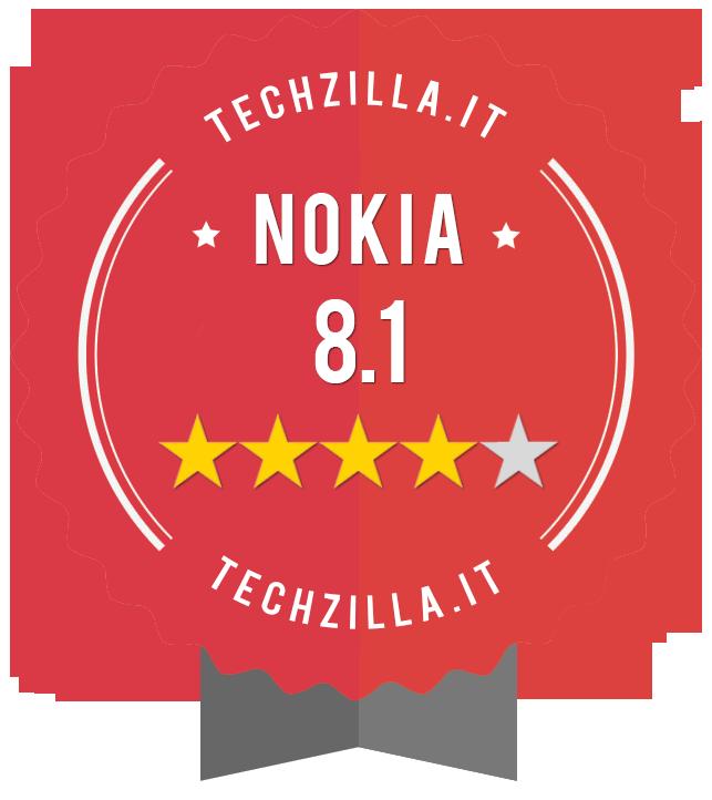 Badge Nokia 8.1