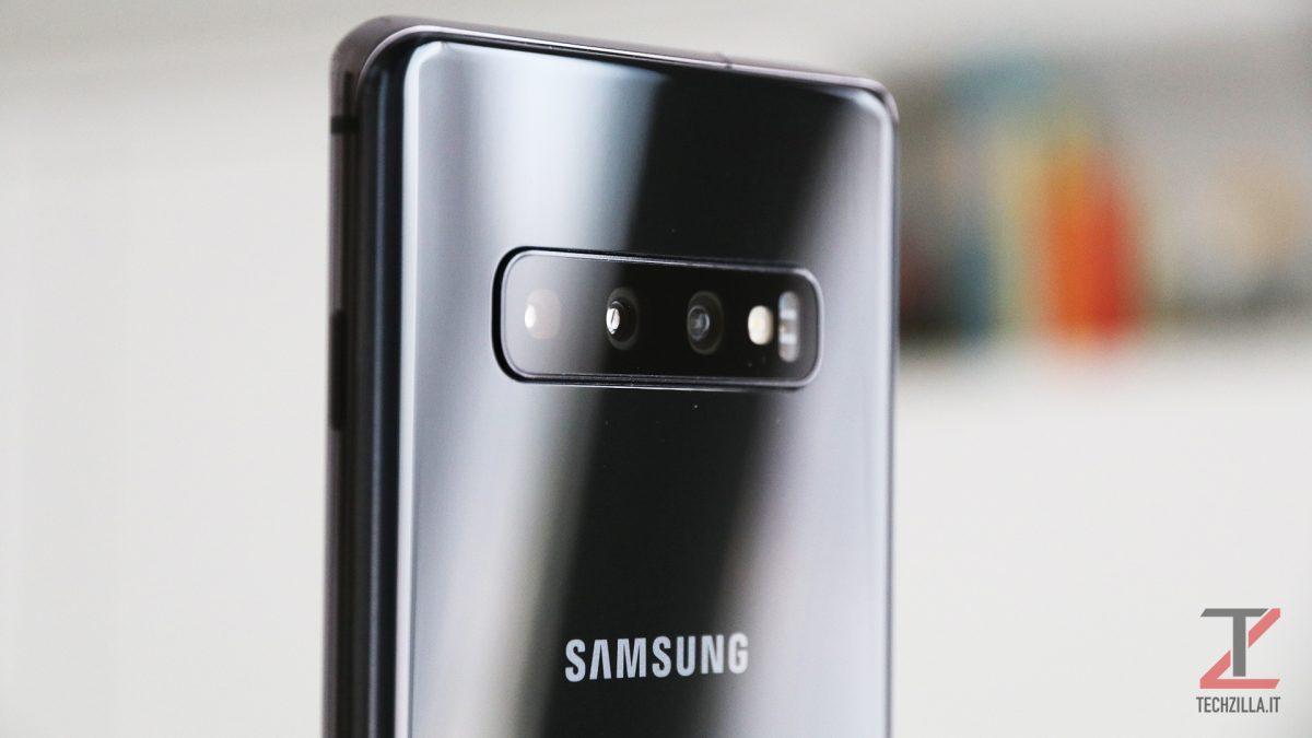 Samsung Galaxy S10+ fotocamera