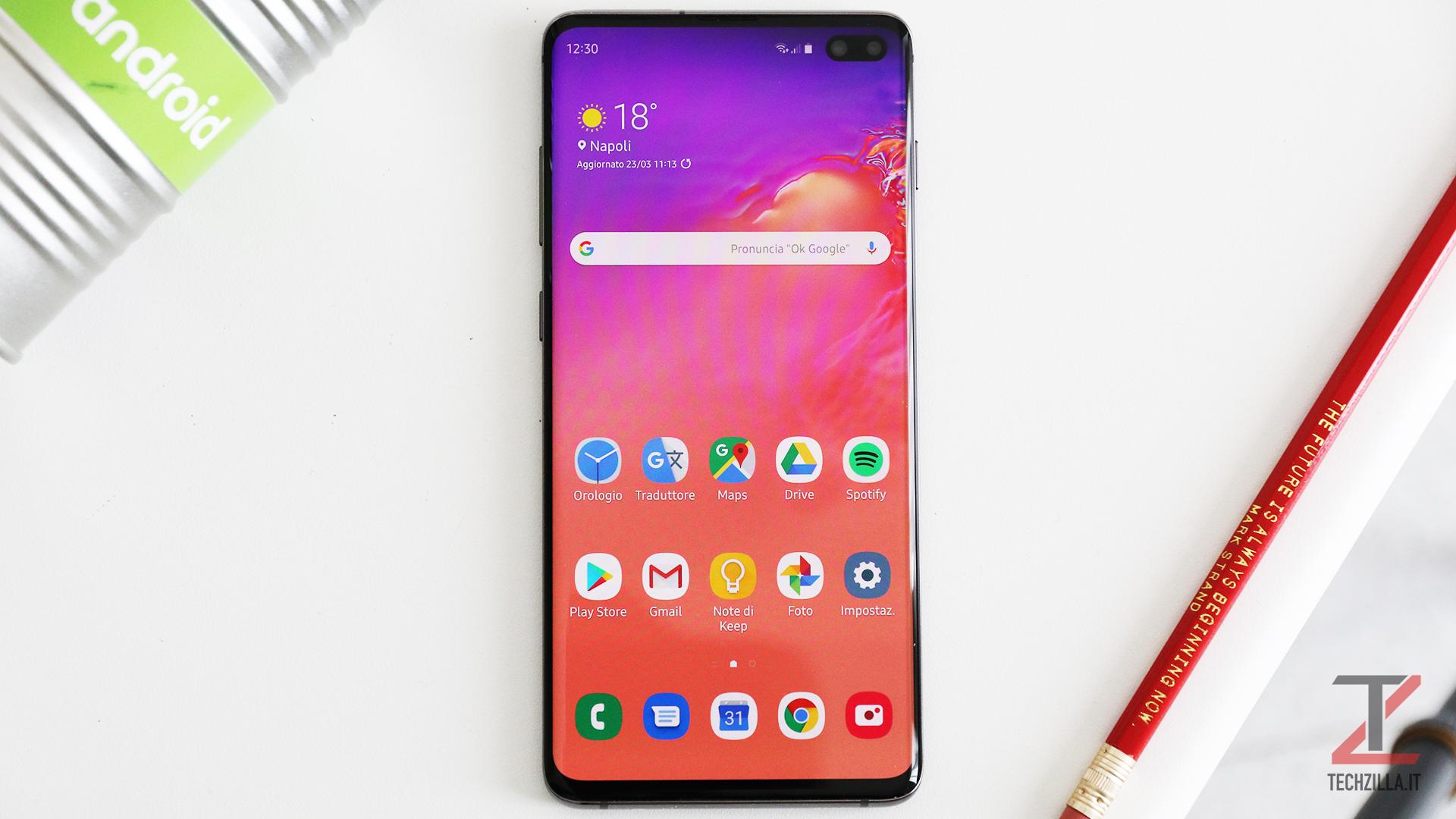 Samsung Galaxy S10+ recensione