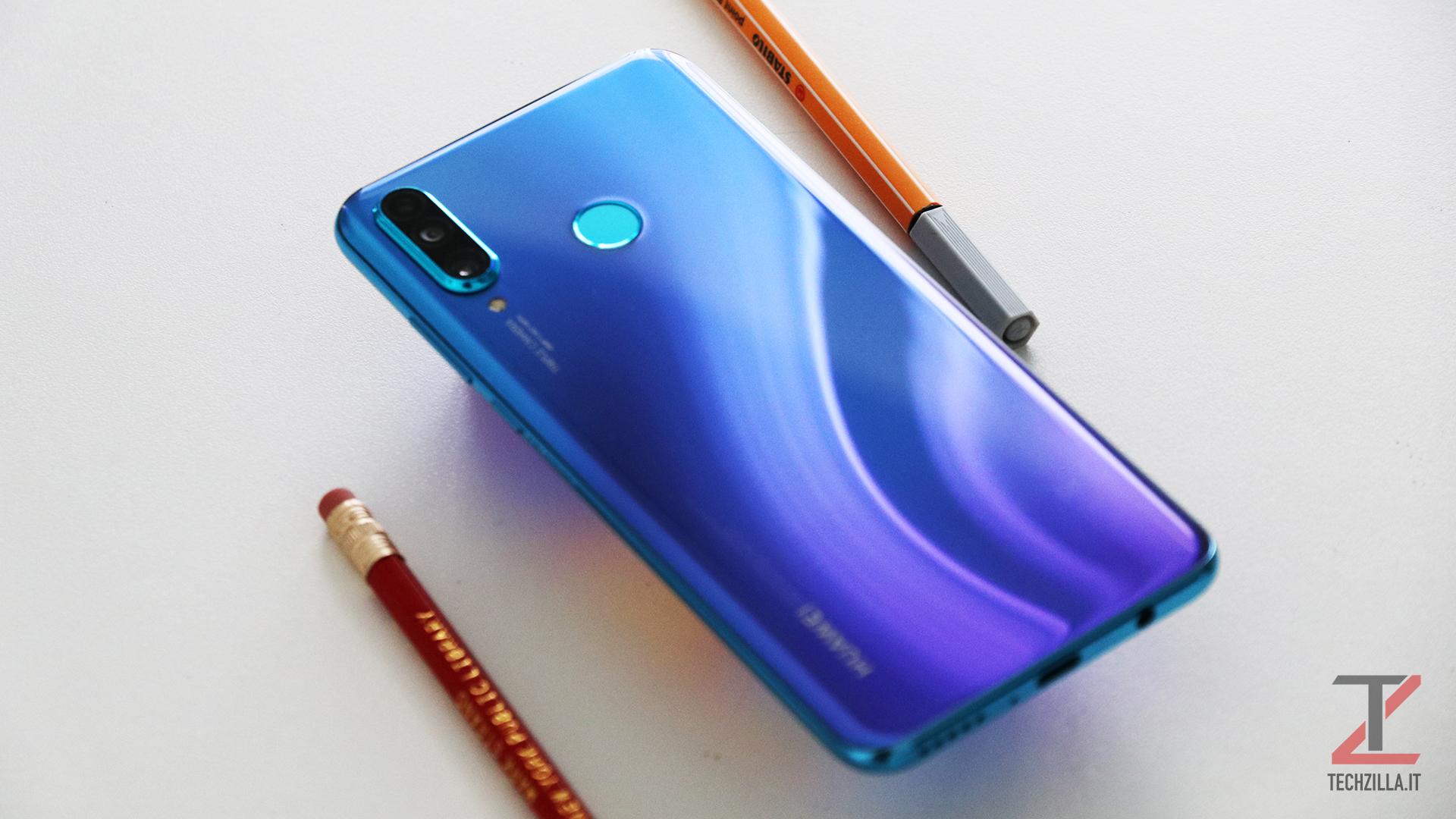 Huawei P30 Lite design