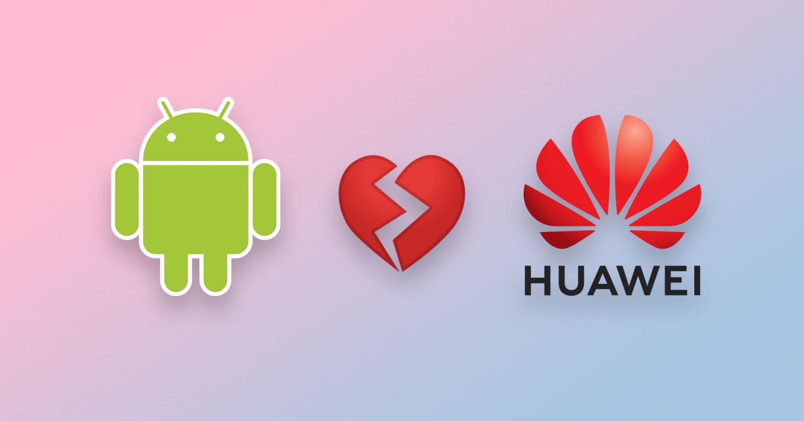 Google banna Huawei