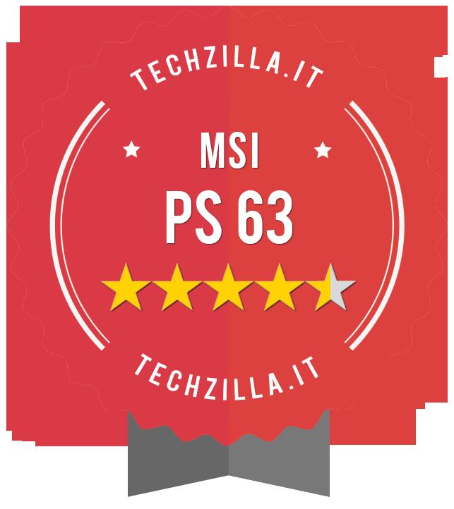Badge MSI PS63