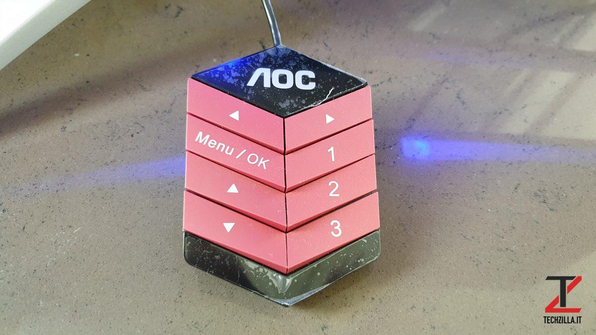 Aoc AG272FCX6 Controller