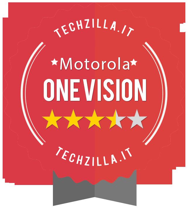 Badge Motorola One Vision