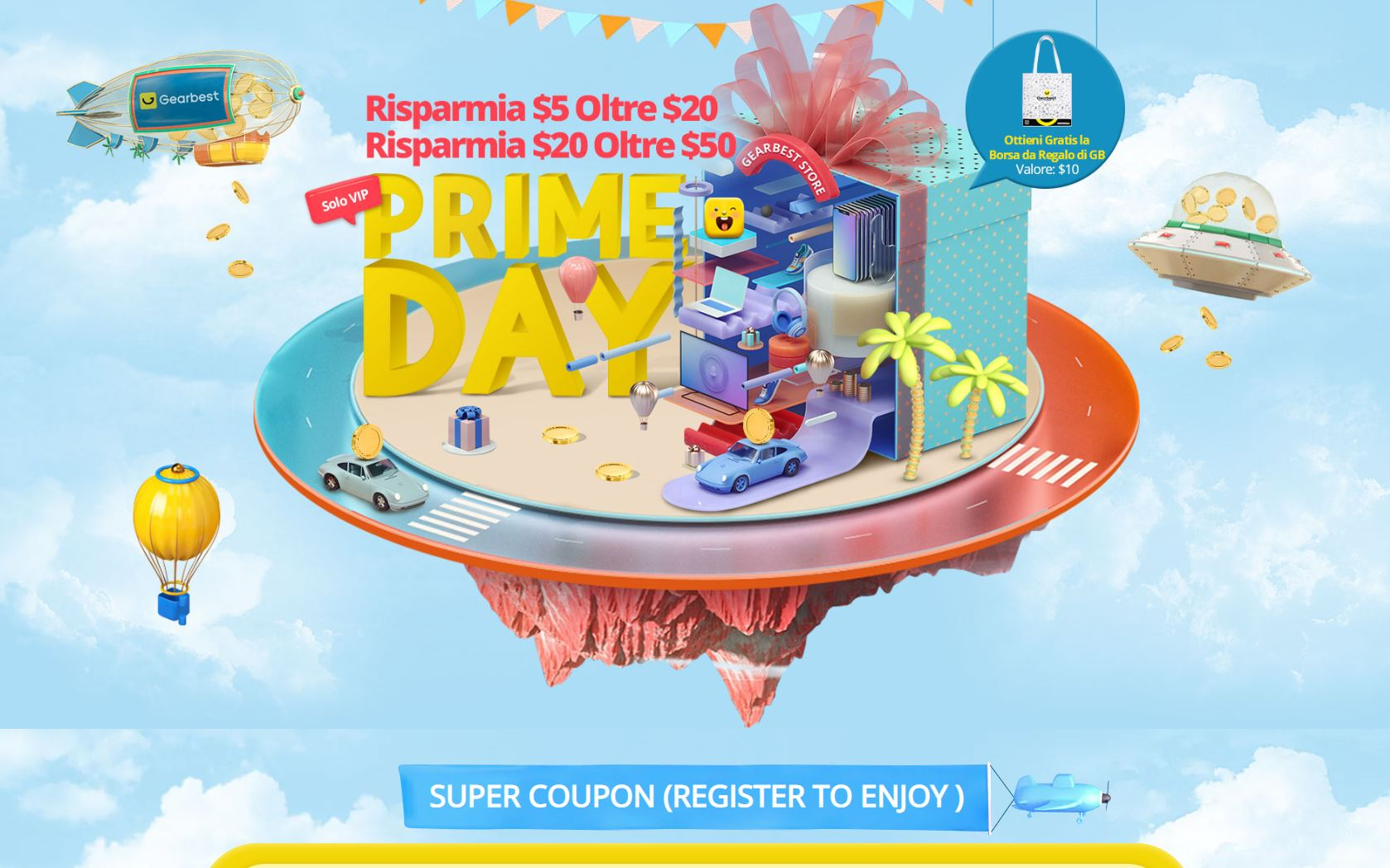 prime day gearbest