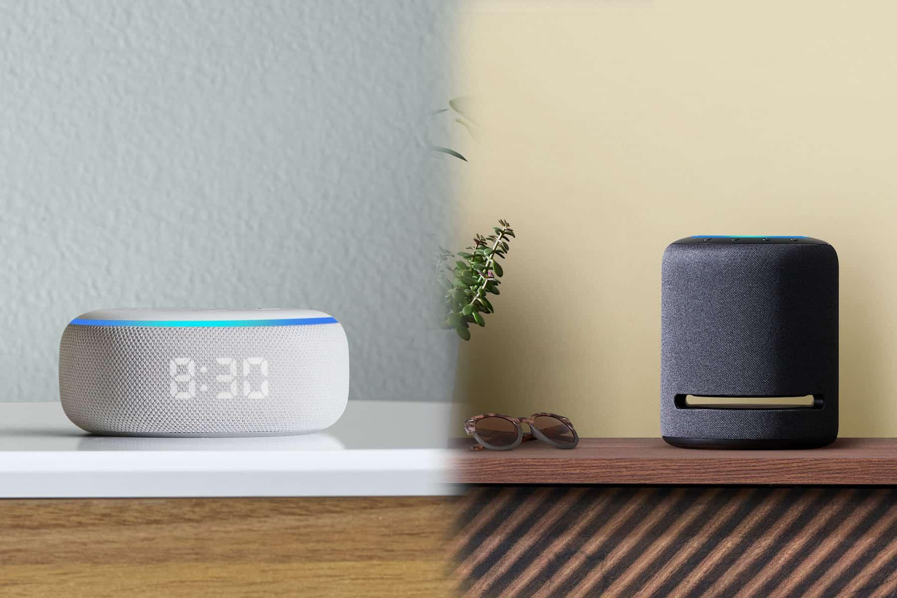 Amazon Echo Studio sidetable 1