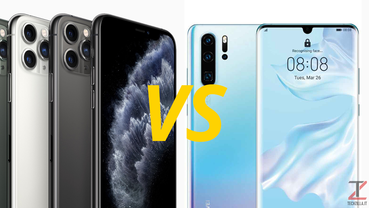 iPhone 11 Pro Max vs Huawei P30 Pro
