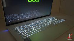 Acer Swift 7 Riflessi
