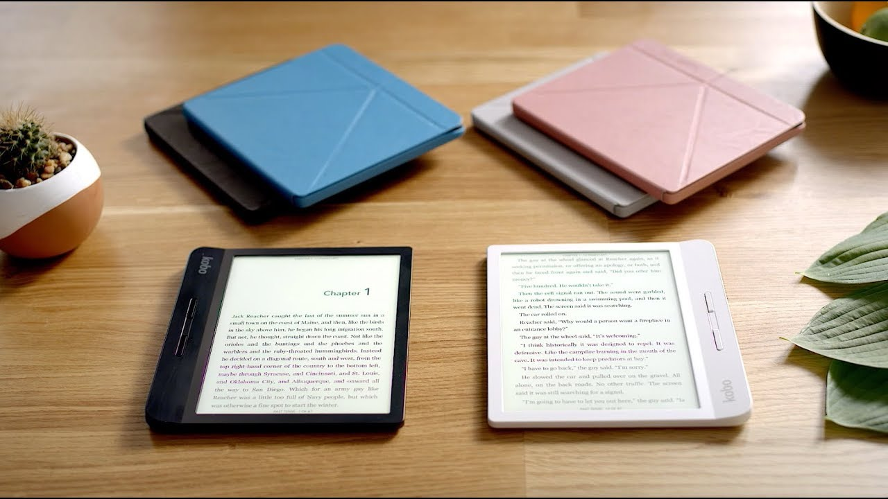 Kobo Libra H2O eBook Reader impermeabile
