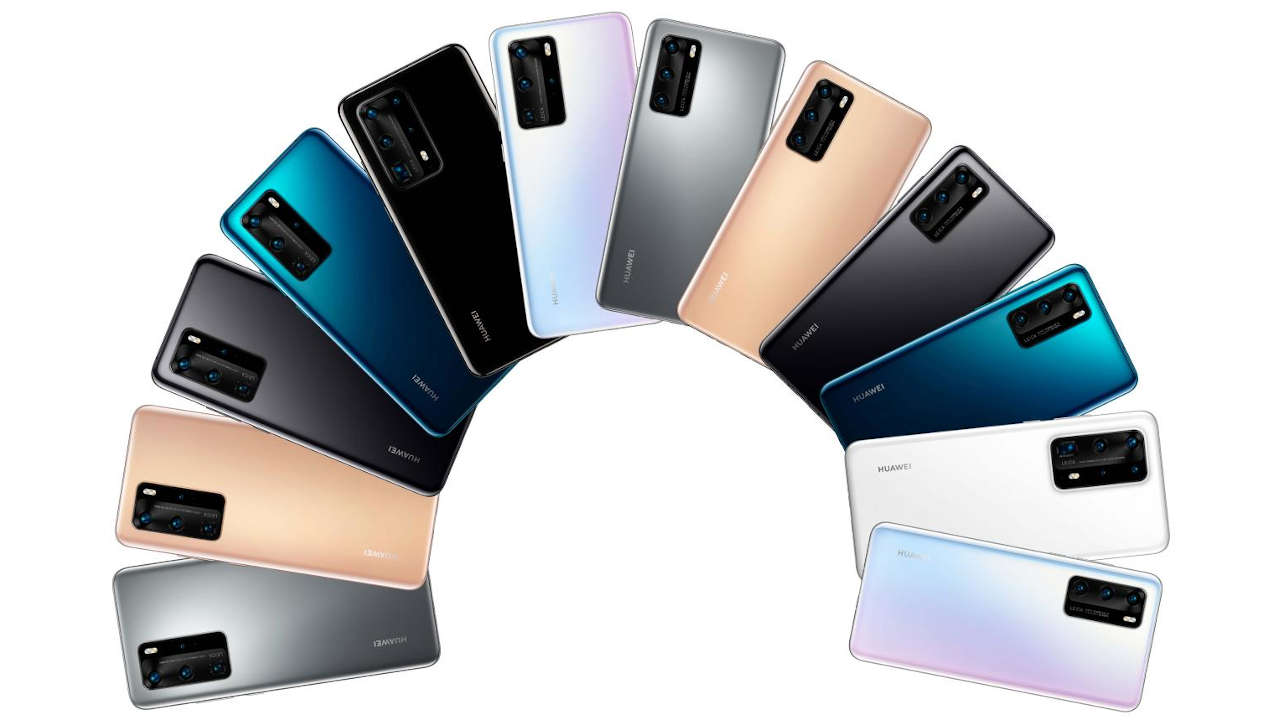 Huawei p40 pro pe colorazioni