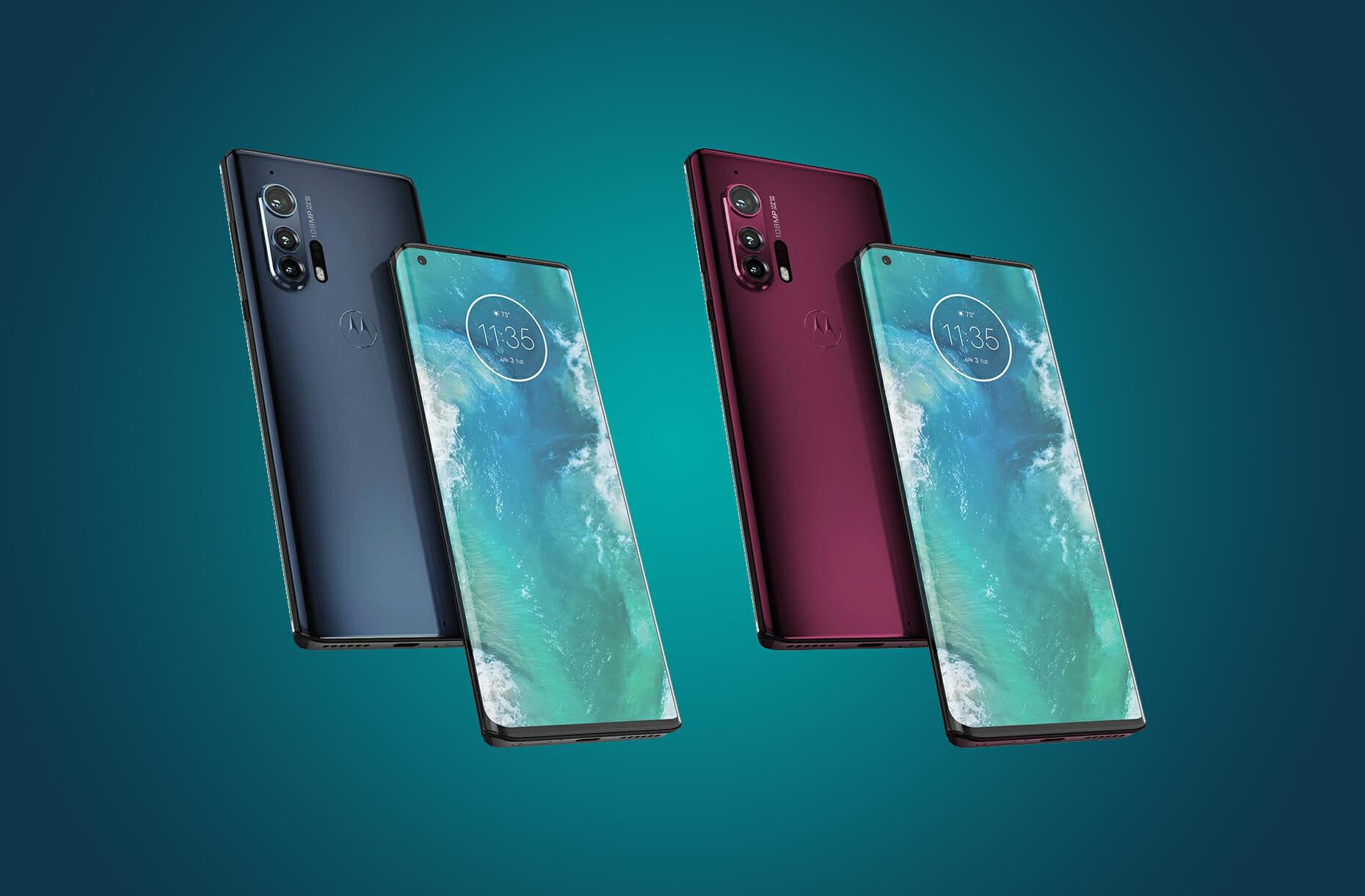 Motorola Edge e Edge + hanno il 5G e un comparto fotografico premium