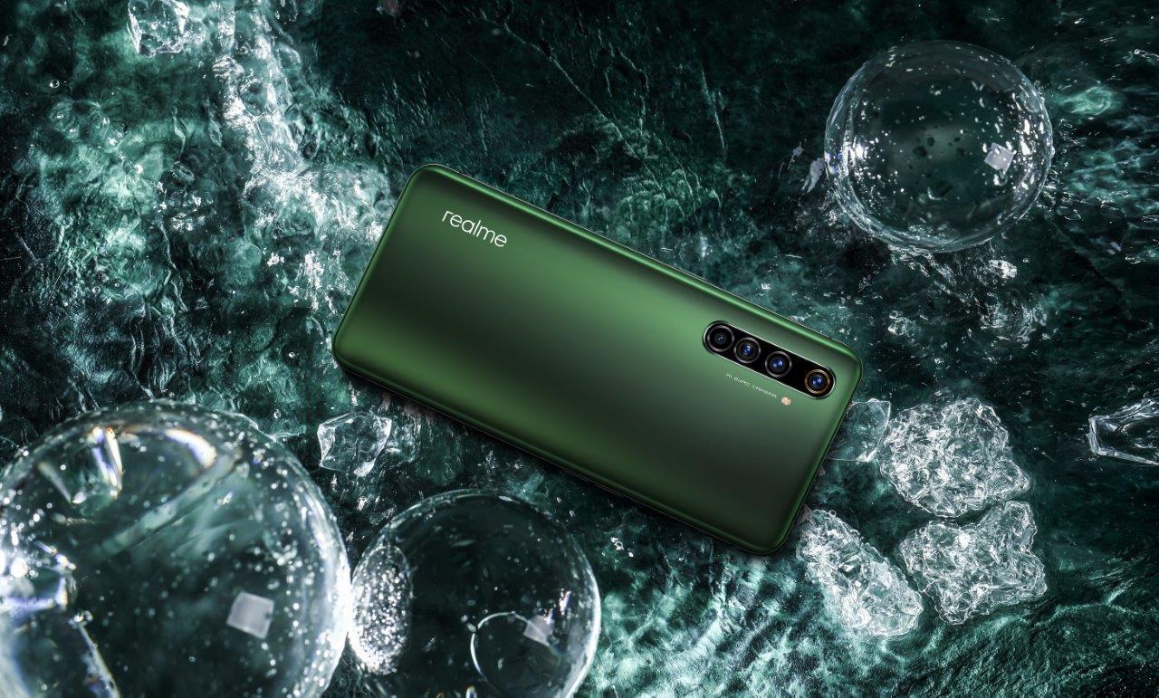 realme X50 Pro 5G Moss Green