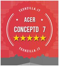 Badge Acer ConceptD 7