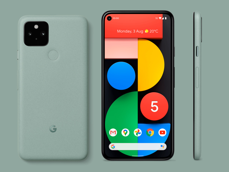 Google Pixel 5 Green 2